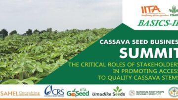 BASICS-II holds first Cassava Seed Business Summit 2021
